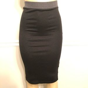 Zara Trafaluc black Highwaist Pencil Skirt